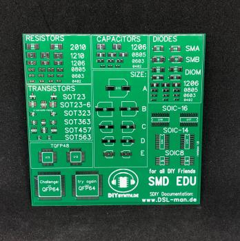 SMT EDU Testboard pcb-only
