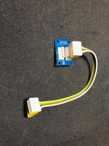 MOTM-MU-Adapter PCB with cable- assembled